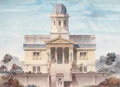 Emil Lange (1841-1926): design for an observatory