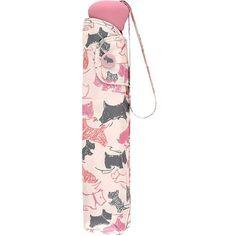 Radley Doodle Dog Print Umbrella , Ivory ($34) ❤ liked on Polyvore