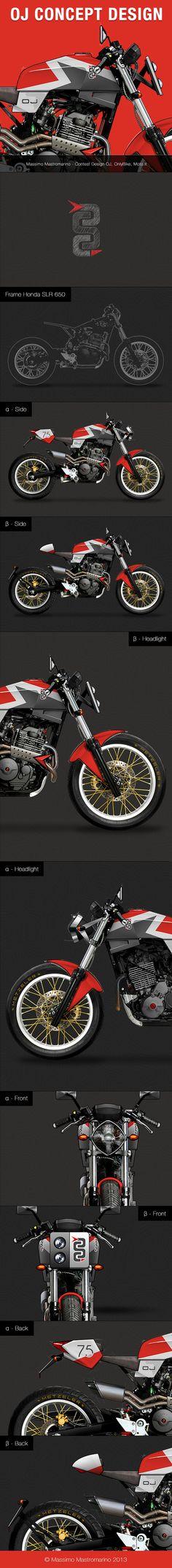 Concept Design Moto - OJ on Behance
