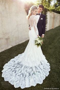 Essense of Australia 2015 Wedding Dresses | Wedding Inspirasi #weddings #wedding #weddingdress #weddinggown #bridal #dress