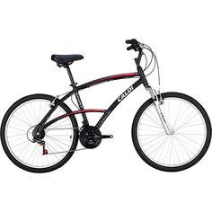 Bicicleta Caloi 21V 100 Sport Aro 26 V-Brake 3x7 - Preto