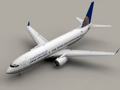 Boeing 737-800 Continental Airlines 3D Model- Accurate very high definition model of an Boeing 737-800 textured as Continental Airlines with detailed landing gear and wings, fully textured. The version with winglets and the version without winglets are included. All flaps, rudders and the landing gear can be animated. All textures included in tga, eps and Adobe Illustrator format.    Max Format:  The flaps, rudders and the landing gear are animated. Meshsmooth is applied so you can set the…