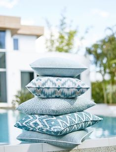 Aqua Group from Solstice Aqua Group, Beach Rules, Ocean House, Beach House, Game Of The Day, Fabulous Fabrics, Fashion Room, Fine Furniture, Outdoor Fabric