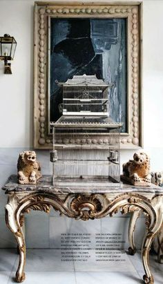 Good Pin By Vanessa On Birds   Home Decor | Pinterest | Curved Glass, Scroll  Pattern And Filigree
