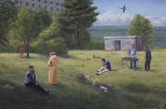 Serban Savu : Plan-B Romani, How To Plan, Painting, Painting Art, Paintings, Painted Canvas, Drawings