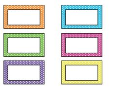 free name tag templates kindergarten | Come back tomorrow for name tags that…