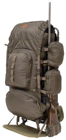 ALPS OutdoorZ Commander Freighter Frame Plus Pack Bag, 5250 Cubic Inches: Sports & Outdoors