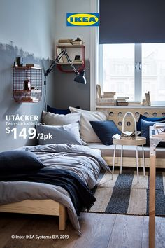 Find everything you need for a good night's sleep no matter your style. With bedroom organization and sleep essentials from IKEA, it's easy to turn your bedroom space into a sleep haven. Home Decor Mirrors, Home Wall Decor, Home Decor Bedroom, Home Decor Catalogs, Home Decor Shops, Ikea Furniture, Bedroom Furniture, Luxury Furniture, Pinterest Room Decor