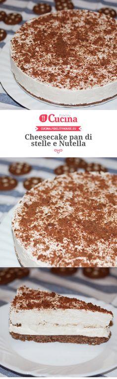#Cheesecake pan di stelle e #Nutella della nostra utente Lucilla. Unisciti alla nostra Community ed invia le tue ricette!