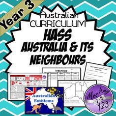 Home :: Subjects :: Humanities & Social Science :: Geography :: HASS YEAR 3 Australia and its Neighbours - ACARA