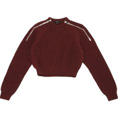 Pre-owned Gucci Wool Jumper ($200) ❤ liked on Polyvore featuring tops, sweaters, burgundy, burgundy top, gucci, wool tops, woolen sweater and gucci jumper