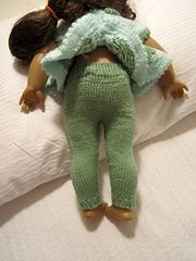 Ravelry: kimmyz's Leggings for American Girl Doll (Free Pattern)