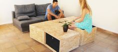 Home Design Ideas & Resources - eHomeDesignIdeas.Com - Be inspired by our home decorating and DIY renovation ideas. Coffee Table Design, Coffee Tables, House Design, Crafty, Wood, Table Designs, Furniture, Home Decor, Decorating