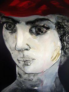 En la mira 100 cm x 80 cm Óleo-Lienzo 2012 3.000€  #arte #art #artecubano #cubanart #galerías #galleries #pintura #painting #EdelBordon Joker, Painting, Fictional Characters, Floating Island, Cuban Art, Canvases, Islands, Pintura, Painting Art