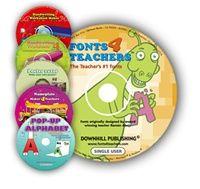 Fonts4teachers REGULAR + 5 more programs