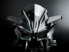Kawasaki's Insane 300-HP Superbike Is Not for the Weak or Stupid | Those rearview-mirror looking pieces of carbon fiber are fins that keep the bike stable at high speeds. Kawasaki | WIRED.com