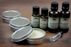 Make your own chemical free deodorant at home!  Customize a deodorant recipe with botanical ingredients and essential oils.
