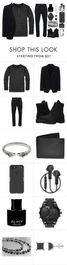 """-:-"" by anjela02 on Polyvore featuring Alexander McQueen, Timberland, Gucci, Dopp, Under Armour, B&O Play, Kenneth Cole, Bling Jewelry, men's fashion и menswear"
