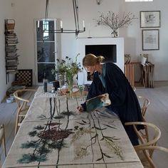 Charlotte Lynggaard - All For Decoration Studio Musical, Studios D'art, Deco Design, Artist At Work, Interior And Exterior, Charlotte, Inspiration, Decoration, Artwork