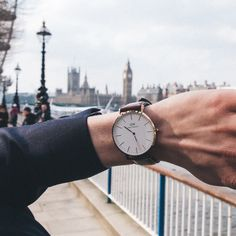 London Embankment Spring Lookbook (Part 1) - Daniel Wellington Watches