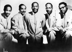 A photo of The Soul Stirrers  Sam Cooke  (left)