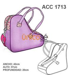 BOLSO PARA PATINES Roller Skating, Ice Skating, Needle And Thread, Cosplay Costumes, Skate, Gym Bag, Sewing Projects, Sewing Patterns, Crochet