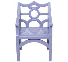 John Lyle Design Dark Harbor Dining Chair Front