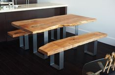 live edge dining table design modern classic image