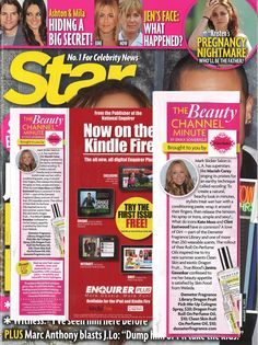 @Star Magazine including Dragon Fruit and Clean Skin in their August issue!!