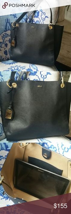 Ralph Lauren leather bag New. Never used perfect classic Ralph Lauren Bags