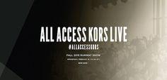 【中継】マイケル・コース、2015年秋コレクションをNYからライブ配信   Fashionsnap.com