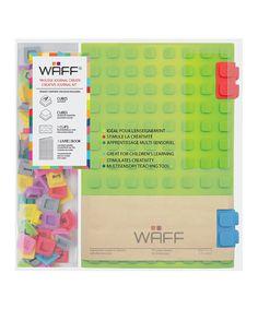 Green WAFF Combo Notebook