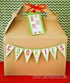 Holiday Printables For Parties By Love From The Oven