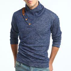 Knitting Sweater Tide Male Slim Large Size Sweater Coat