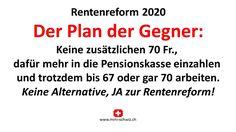 Der Plan, Planer, Politics