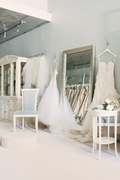 Fabulous Frocks of Atlanta Bridal Boutique | Rustic White Photography @Sara | Burnett's Boards