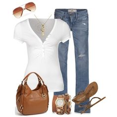 summer casual - Polyvore