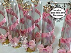 tubetes decorados princesa - Bing Imagens
