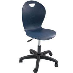 Titan Navy Task Chair   Titan Task Chairs   Classroom Essentials Online