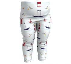 East Coast Baby | Youth | Kids Leggings | Compression Fit | Spandex | Trousers Baby Leggings, Design Lab, Trousers, Pants, Printed Leggings, East Coast, Lighthouse, White Jeans