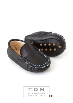 TOM by Le Petit Tom � MOCCASIN  15tom black -unisex