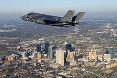 F-35B flies over Fort Worth by Lockheed Martin, via Flickr