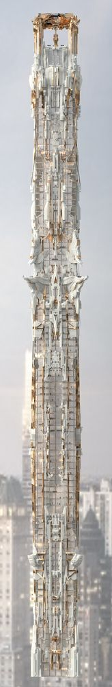 Gallery - Mark Foster Gage's Manhattan Skyscraper Takes Gothic Architecture to New Heights - 9