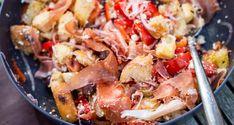 Feta, Prepped Lunches, Ciabatta, Potato Salad, A Food, Salads, Chicken, Ethnic Recipes, Quiches