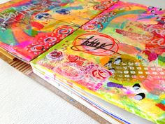 15 minutes of mixed media! Read more here ------> raemissigman - Blog