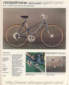 Pay Bill, See Offers, Check Email with My Verizon Fios Peugeot, Touring Bicycles, Vintage Cycles, Check Email, Fixed Bike, Classic Bikes, Biking, Colorado, Heart