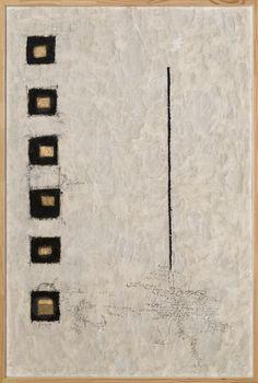Magdalo Mussio Senza titolo (La Finestra), 1975-80 circa Tecnica mista su carta 149,5 x 99 cm