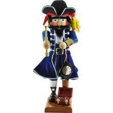 Tiffany Sullivan's pirate nutcracker. ARRRRRRRRRR u looking at me. lol