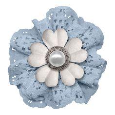 BLUE WHITE FLOWER