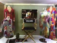 Coat of Many Colors display at Chasing Rainbows Museum at Dollywood! Dolly Parton Costume, Coat Of Many Colors, Living Legends, Costume Accessories, Love Her, Kimono Top, Geek Stuff, Actresses, Costumes
